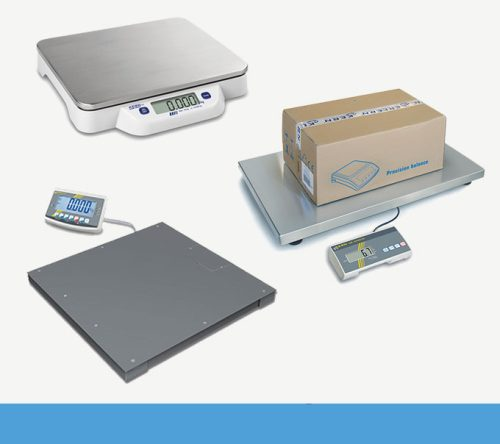 Paket- und Plattformwaage